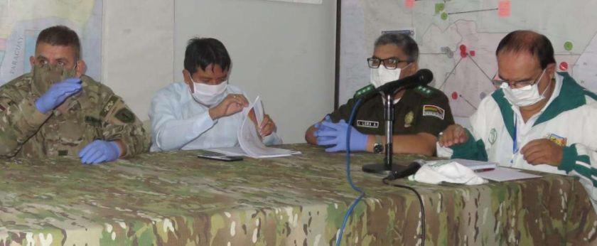Detienen a transportistas que circulaban con permisos clonados en Camiri