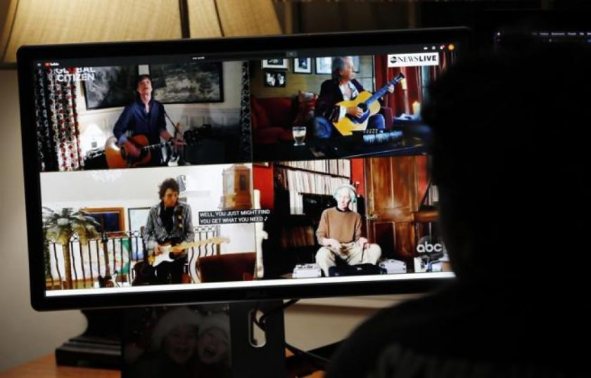 Desde casa de las estrellas para el mundo: un concierto global en cuarentena