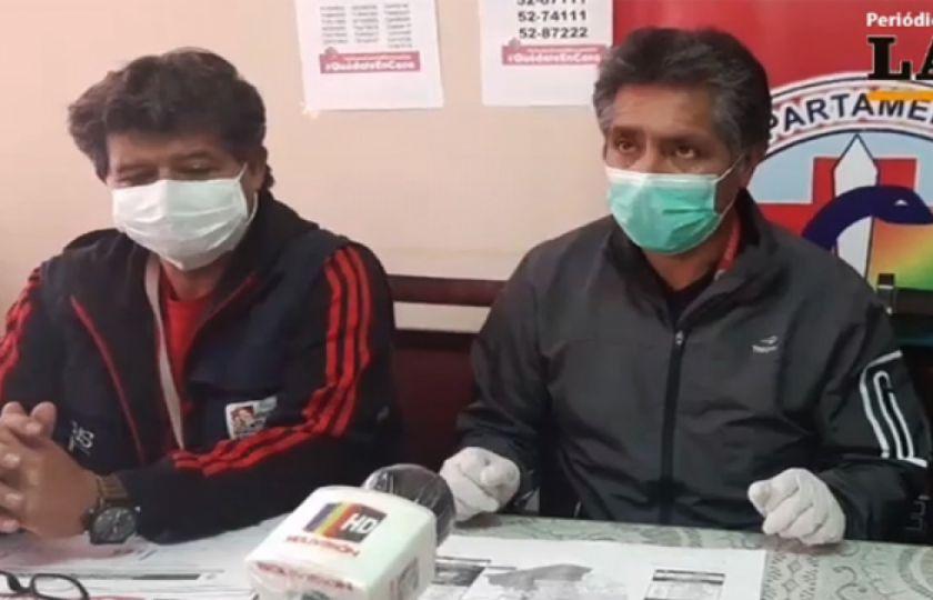 Oruro reporta 13 casos nuevos y aísla a 40 policías de Huanuni por sospecha de COVID-19