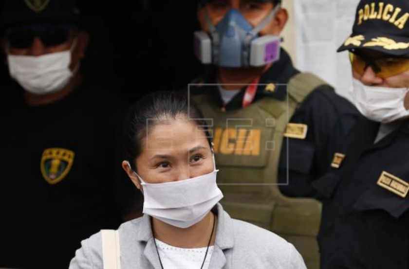 Keiko Fujimori recupera libertad en plena pandemia y sin juicio a la vista