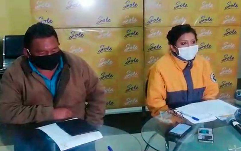 Choferes de El Alto aceptan una semana más de cuarentena