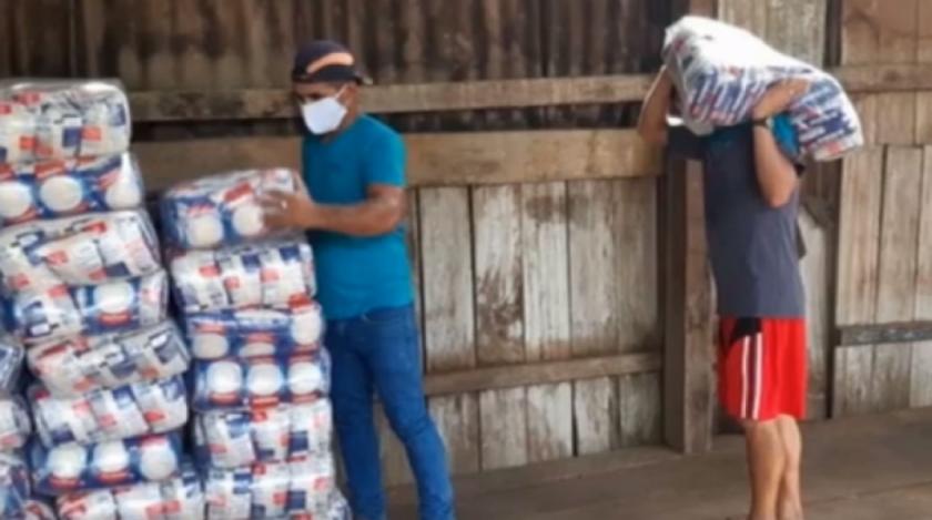 Entregan 18 toneladas de alimentos a 205 familias de indígenas tacanas