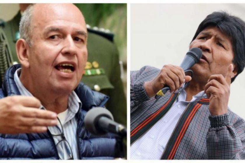 Murillo le pide a Evo Morales dejar de llamar a la violencia