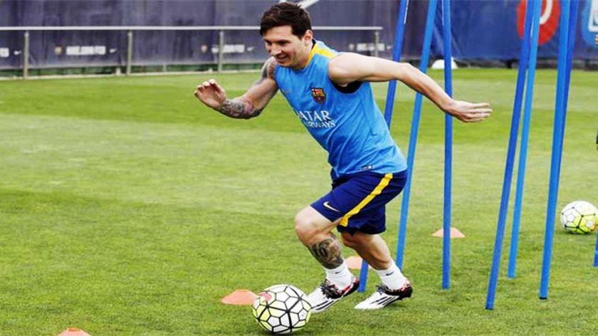 Barcelona, con Messi, completó su semana de entrenamiento