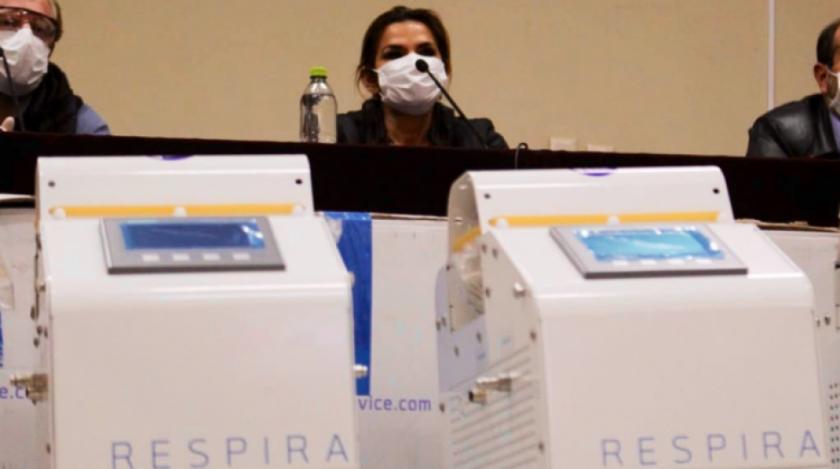 Conformarán una comisión mixta en el Legislativo para investigar gastos de 170 respiradores