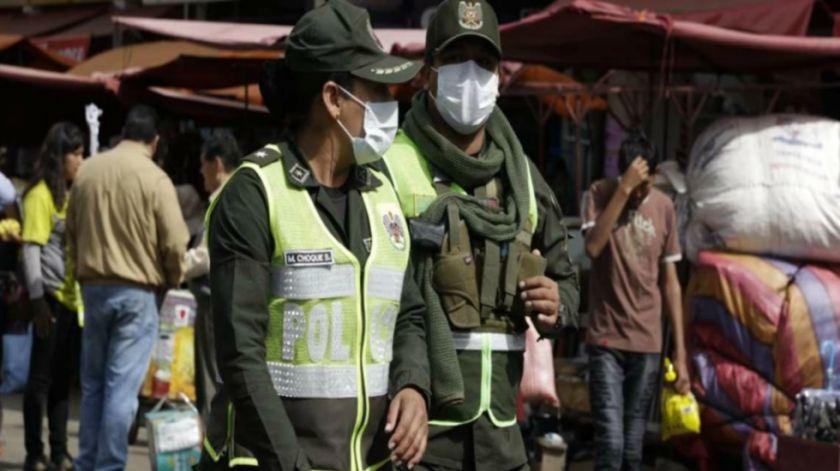 Muere un jefe policial con COVID-19 y a la fecha hay 174 policías y 37 militares infectados