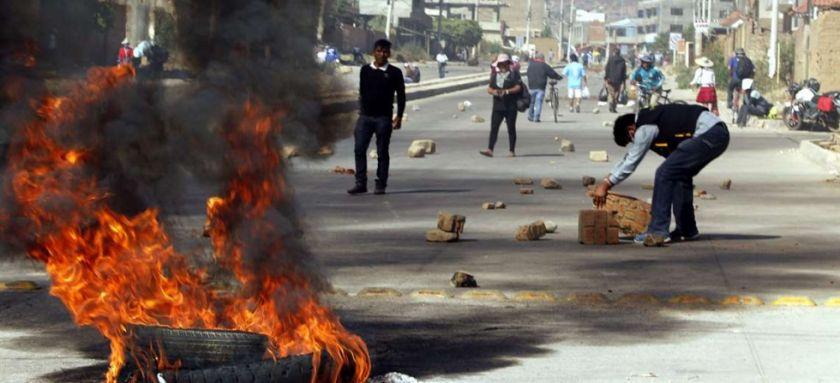 """Cochabamba, Yapacaní y Macha son los puntos más radicales en conflicto y dirigentes de El Alto establecen decisiones """"internas"""""""
