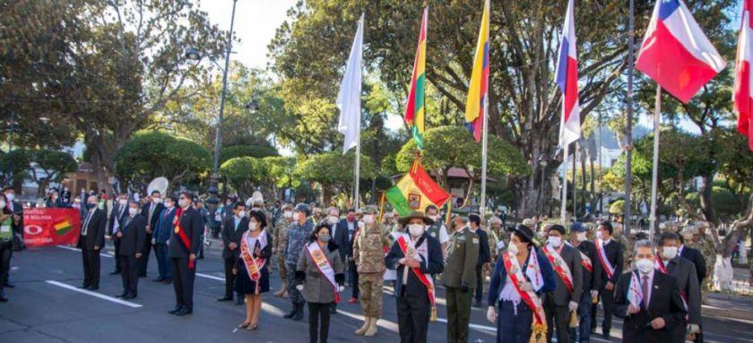 Gobierno de Jeanine Áñez anuncia Bs 85 millones para Chuquisaca
