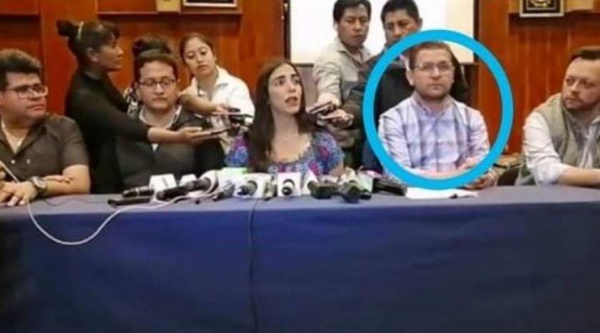 Caso respiradores: la Felcc revela que Fernando Valenzuela mantuvo contacto con Gabriela Montaño