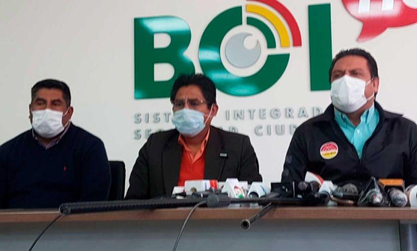 COED - La Paz decide que solo 40 % de funcionarios podrá salir a trabajar