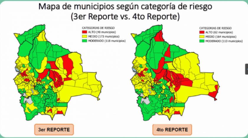 Suben a 62 los municipios con riesgo alto de contagio a tres días de la flexibilización de la cuarentena