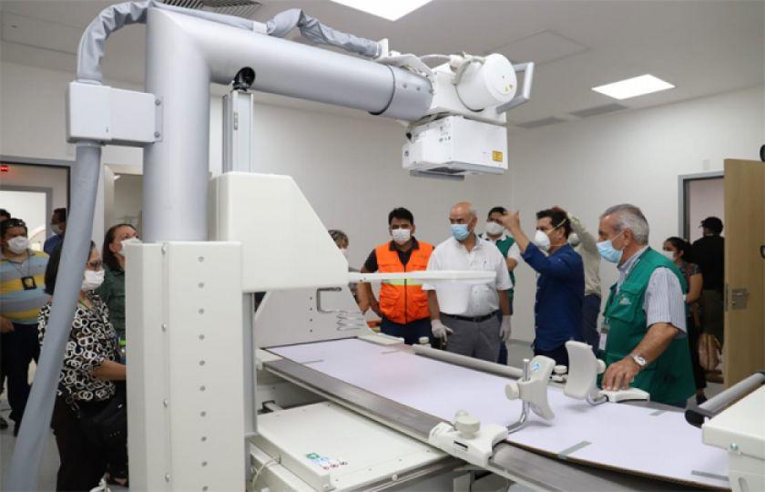 Hospital de Montero comenzará a recibir pacientes COVID-19 en 72 horas