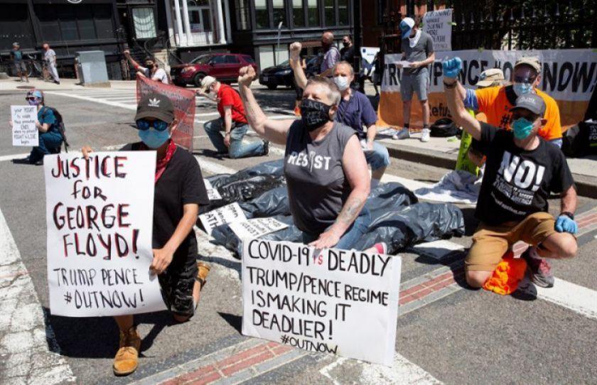 EEUU se blinda frente a nuevos disturbios con toques de queda y refuerzos