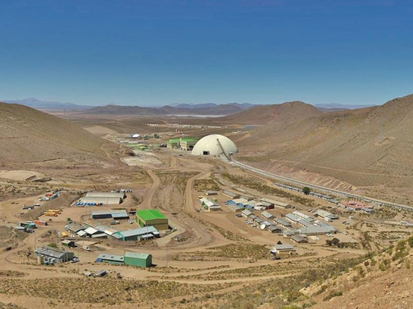 Minera San Cristóbal está en cuarentena rigurosa