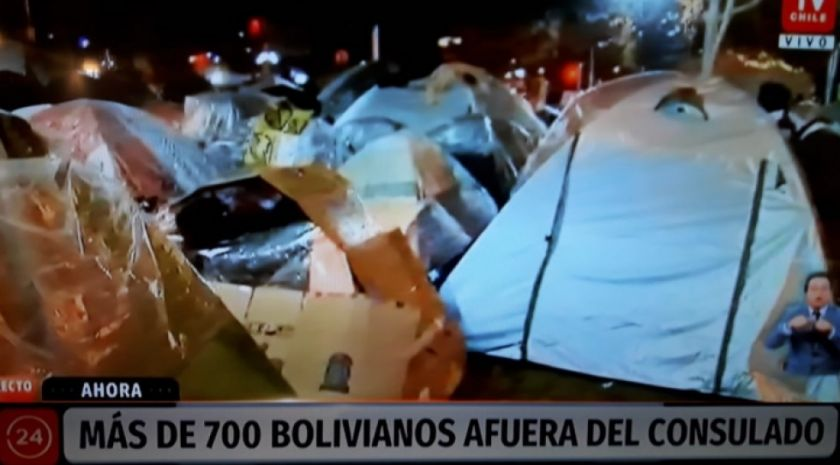 Consulado logra acuerdo con Estado e Iglesia chilena para dar albergue a 750 bolivianos