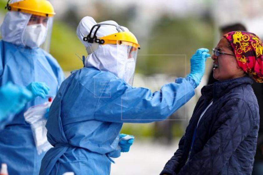 Ecuador suma 622 contagios y alcanza los 42.728 casos positivos para COVID-19