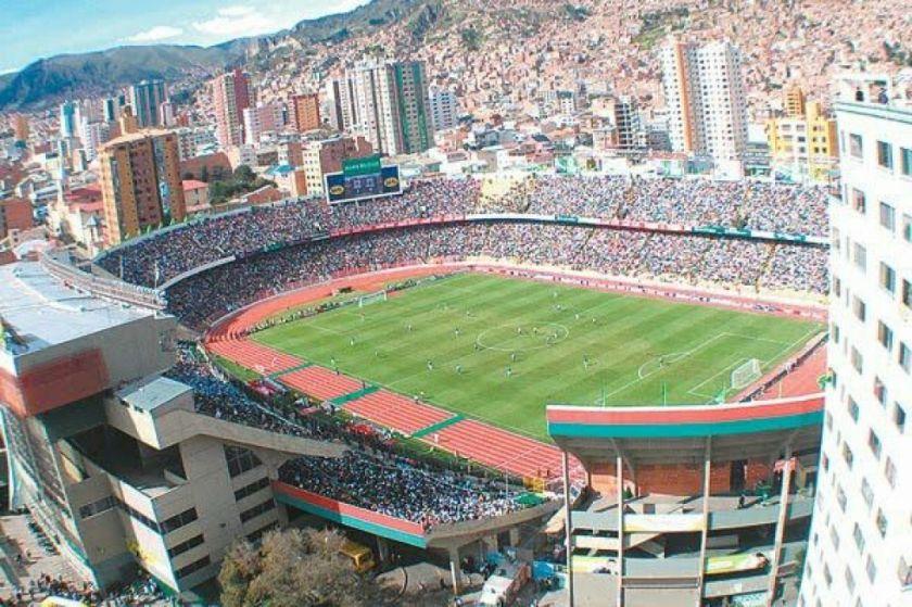 El estadio Hernando Siles es el cuarto escenario con más partidos registrados en la Libertadores