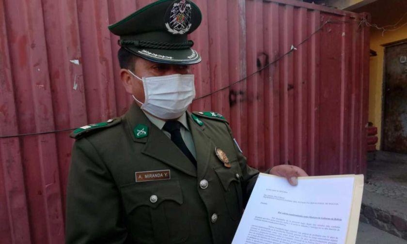 Un suboficial pidió ser ministro de Gobierno y la Policía le inicia proceso interno