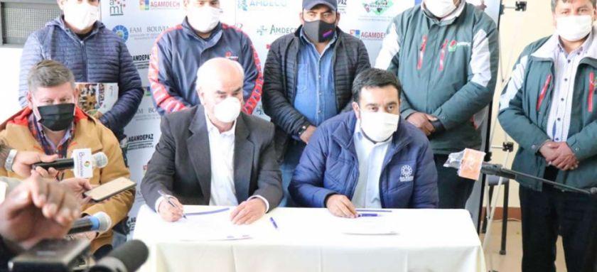 Municipios levantan piquetes de huelga de hambre e instalarán dos mesas de trabajo con el Gobierno