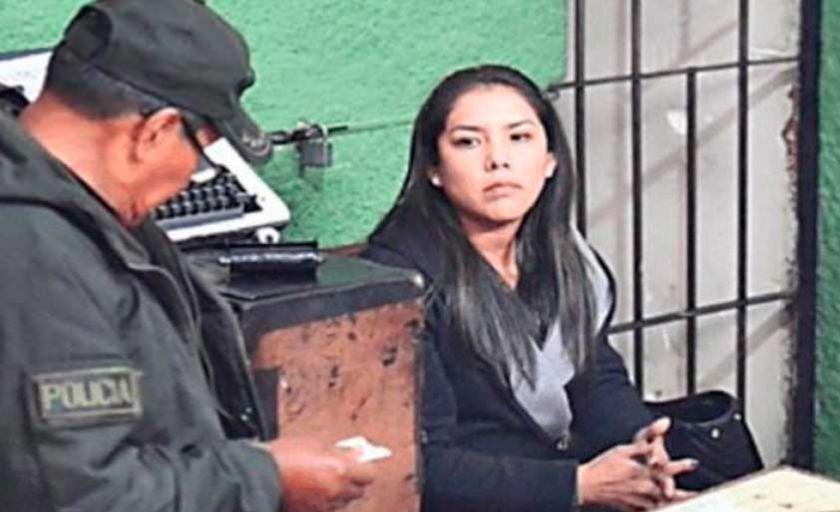 Defensora pide liberar de la cárcel a la ex jefa de gabinete de Evo Morales