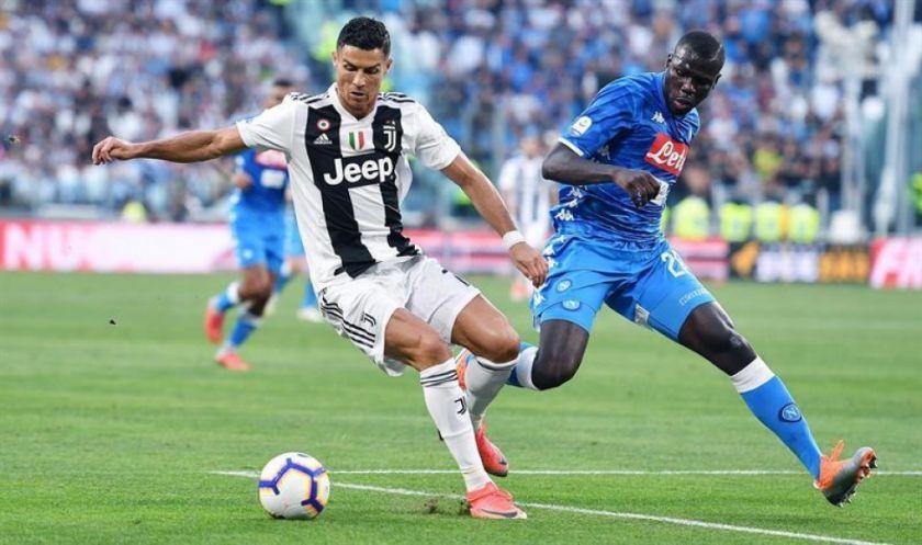 Nápoles y Juventus van por el título de la Copa de Italia
