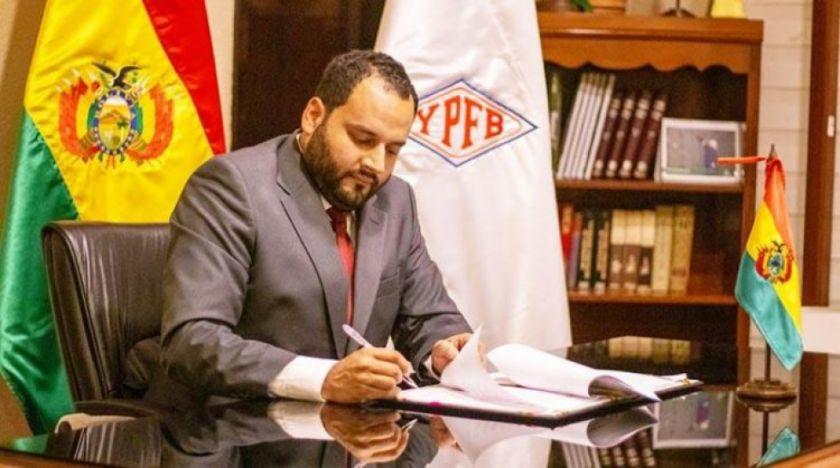 Fiscalía emite orden de aprehensión contra el expresidente de YPFB, Herland Soliz