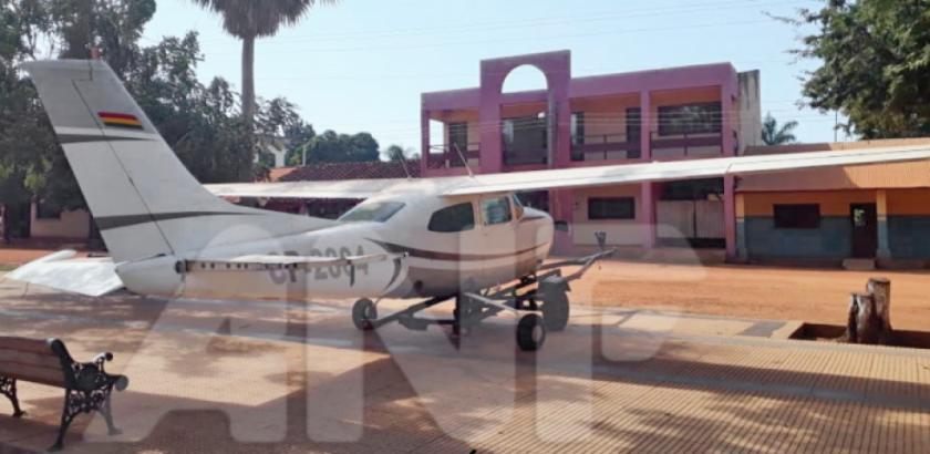 Fiscalía incauta avioneta y precinta un hangar vinculados al narcotráfico en Bella Vista