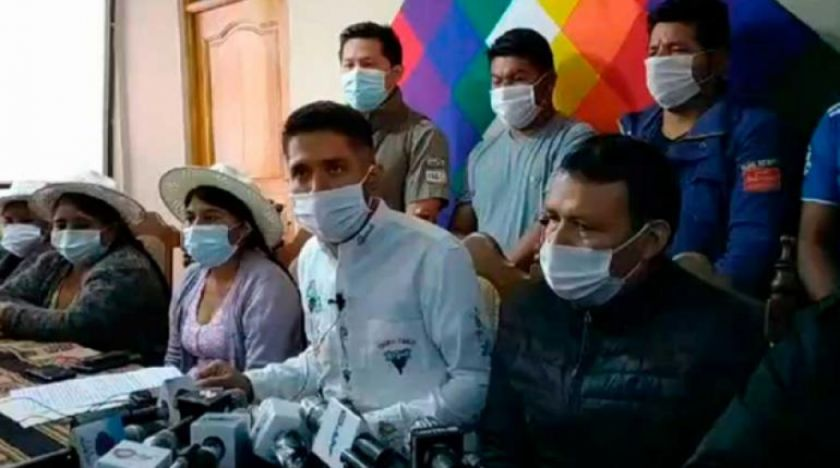 Cocaleros de Cochabamba se suman a ultimátum de la COB y pedirán a Copa promulgar ley de elecciones