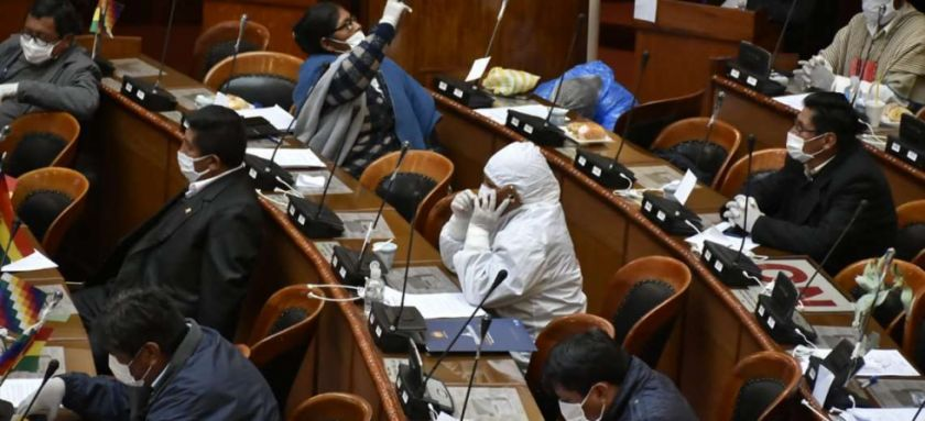 Suspenden sesiones en Diputados por casos de COVID-19