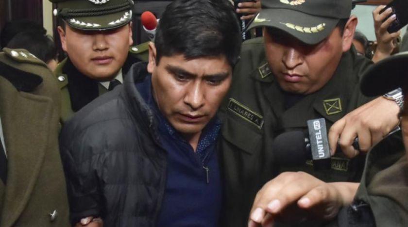 """Ratifican la detención preventiva del exvocal Idelfonso Mamani por el caso """"fraude electoral"""""""