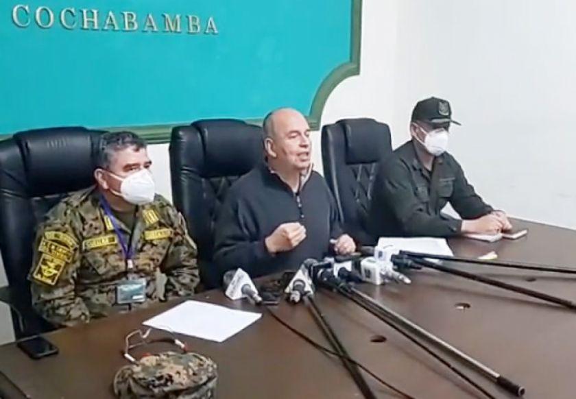 """Ministro Murillo denuncia: """"estamos frente a un golpe de estado vía Asamblea Legislativa"""""""