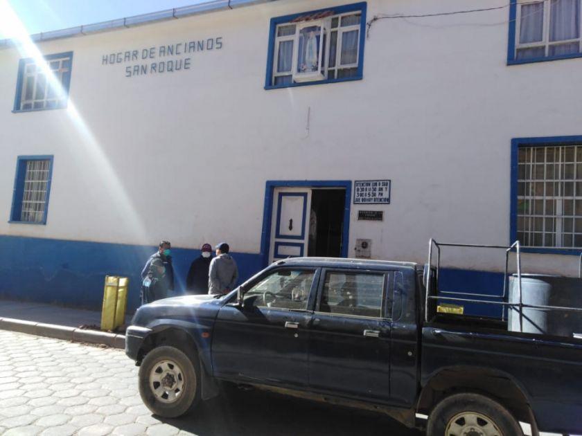 Confirman COVID en 90 % de ancianos del asilo San Roque