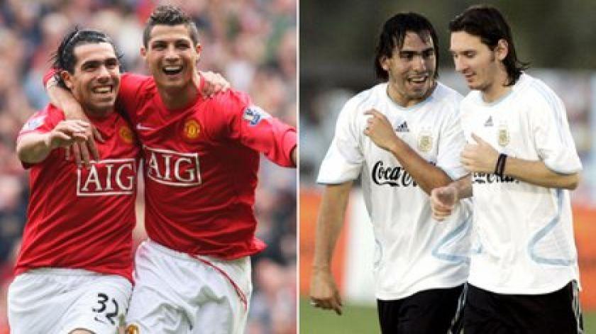 Tevez y el partido de despedida: quiere a Messi y Cristiano Ronaldo en cancha