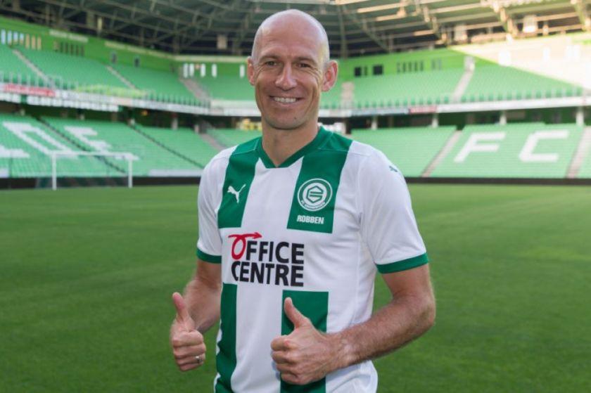 Arjen Robben vuelve del retiro para jugar en el club de sus amores