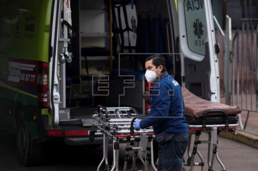 Chile roza los 276.000 casos de COVID-19 y decesos llegan a 5.575