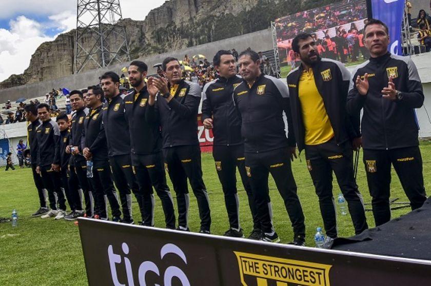 """The Strongest: """"somos líderes de varios equipos mal llamado chicos"""""""