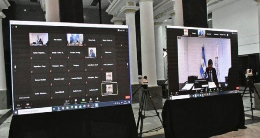 Cancilleres del Mercosur debatirán sobre la integración postpandemia en inédita reunión virtual