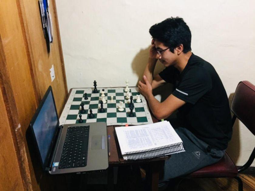 Unos 50 ajedrecistas participarán en el Nacional Online