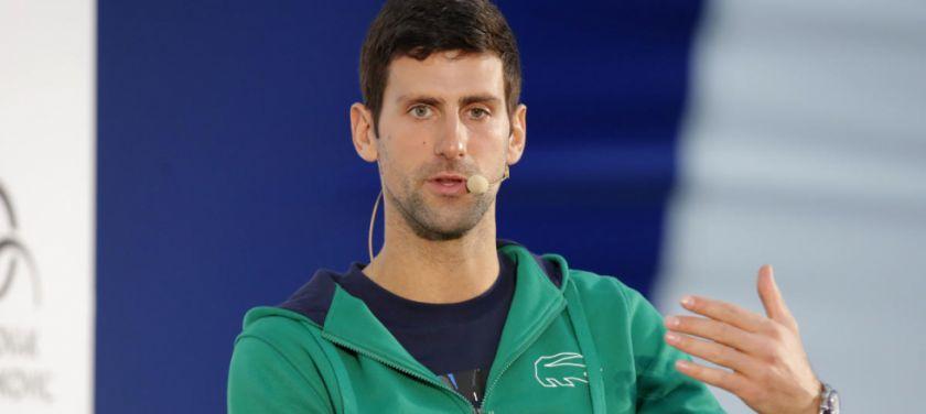 Djokovic puso en duda su participación en el US Open