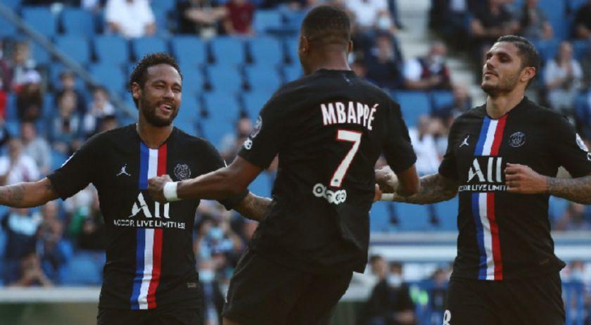 El PSG regresa con público y exhibición de Neymar, Mbappé, Di María e Icardi