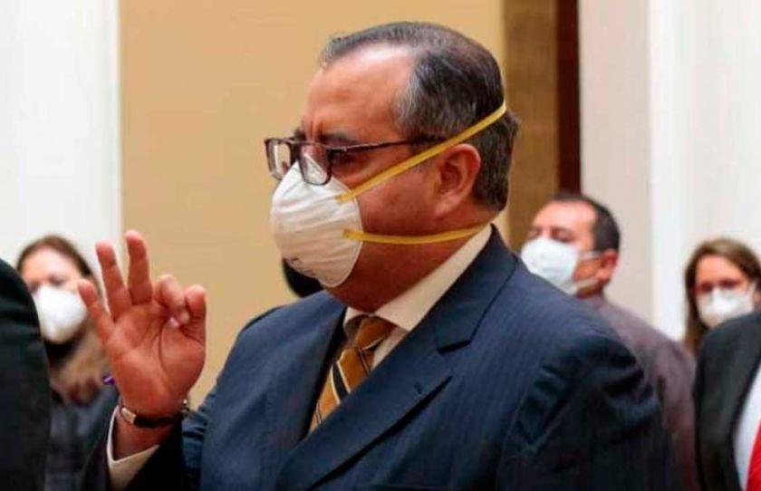 José Abel Martínez se suma a la lista de ministros que dieron  positivo a coronavirus