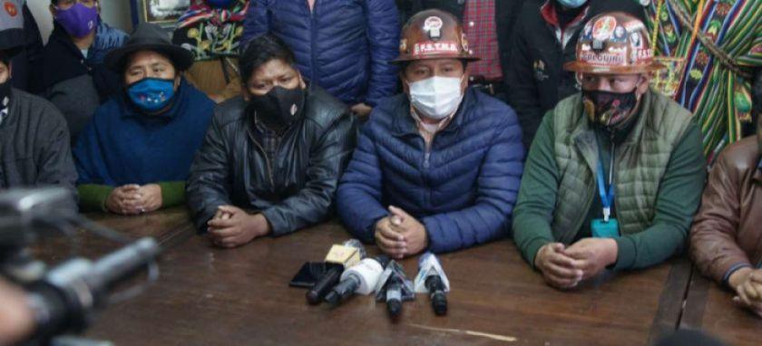 Gobierno señala a Evo Morales como incitador de las movilizaciones