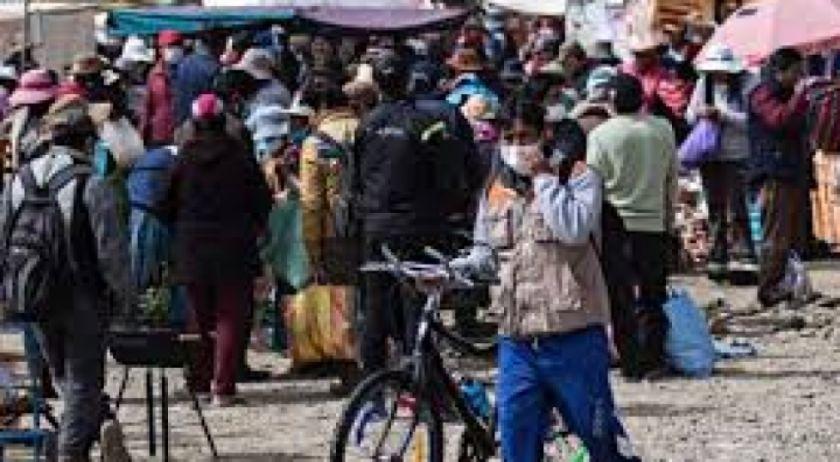 Las zonas comerciales de El Alto son las más azotadas por el coronavirus