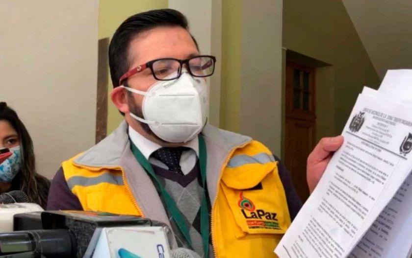 Alcaldía de La Paz inicia proceso a dirigentes vecinales que rechazan centro COVID en su zona