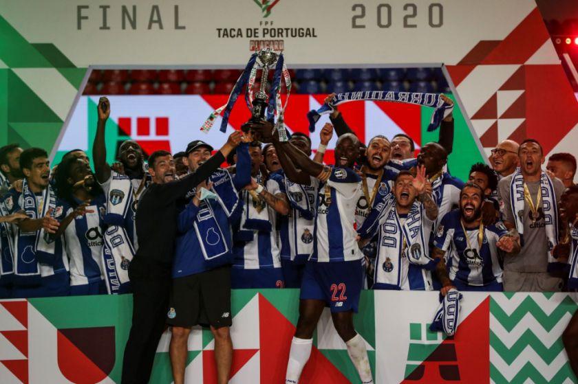 El Oporto gana la Copa de Portugal y logra el doblete nacional