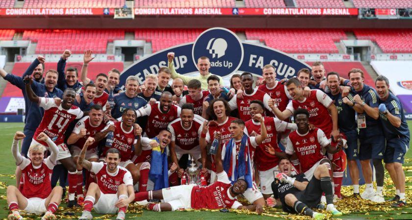 Arsenal gana la Copa de Inglaterra
