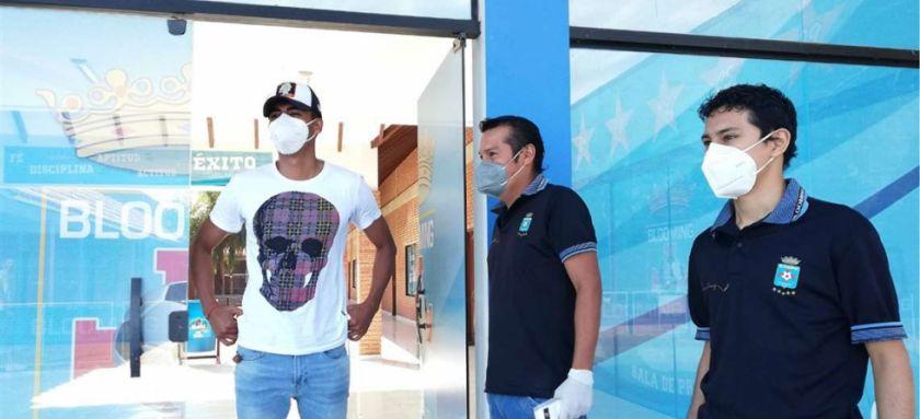 Blooming arrancó su plan retorno con las pruebas de coronavirus a sus futbolistas