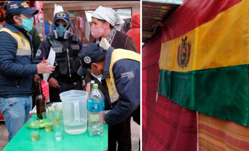 El Alto: Intervienen fiesta con churrasco y bebidas donde celebraban aniversario patrio