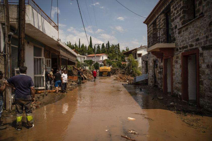 Las inundaciones dejan siete muertos en Grecia