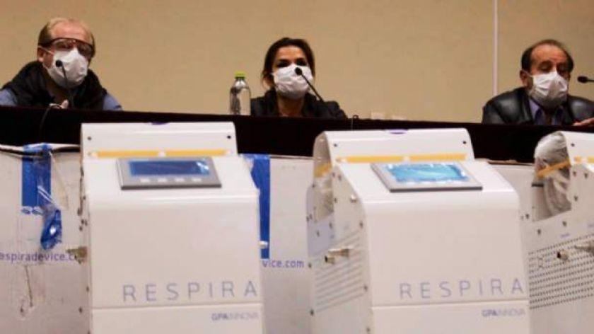 Bolivia pide resolución del contrato por la compra de respiradores